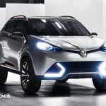 New Crossover Concept CS MG 2014 Front View