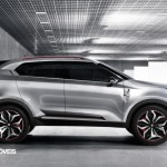New Crossover Concept CS MG 2014 right profile View