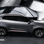 New Crossover Concept CS MG 2014 right top View