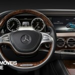 New Mercedes-Benz Classe S 2014 comand pannel view