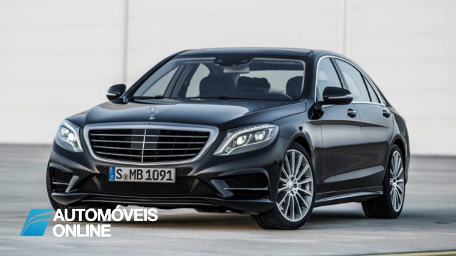 Revelado! Primeiro vídeo do Mercedes-Benz Classe S 2014