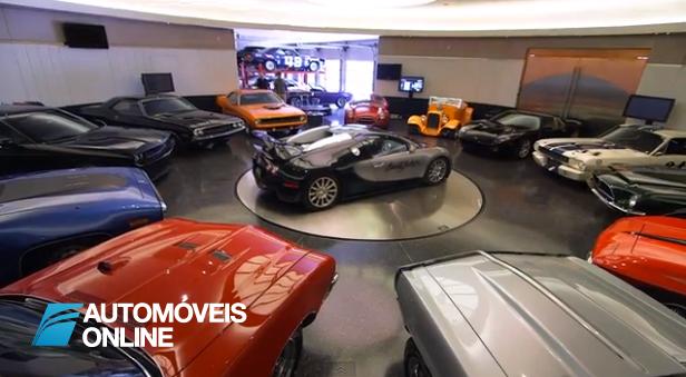 A Garagem de um Multimilionário é mesmo assim! Vídeo