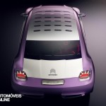 Concept Car Citroen Revol base new Citroen DS2 Top view Automoveis-Online Noticias