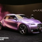 Concept Car Citroen Revol base new Citroen DS2 front rgiht view Automoveis-Online noticias