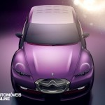 Concept Car Citroen Revol base new Citroen DS2 front view 2014 Automoveis-Online Noticias