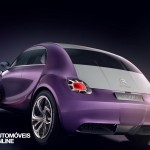 Concept Car Citroen Revol base new Citroen DS2 rear left view Automoveis-Online Noticias