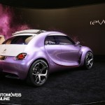 Concept Car Citroen Revol base new Citroen DS2 rear right view Automoveis-Online Noticias