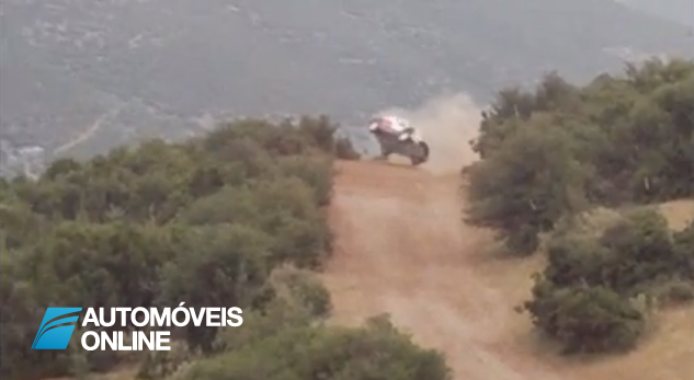 Vídeo Acidente espectacular no Rali da Grécia WRC Rally Acropolis 2013