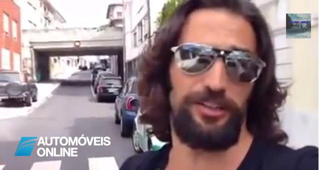 Vídeo! Actor José Fidalgo divulga polícia por cometer infracção