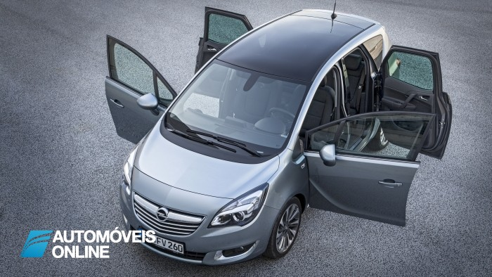 New Opel Meriva 2014 doors open view