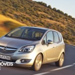New Opel Meriva 2014 front left view
