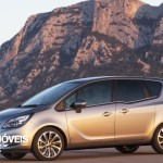 New Opel Meriva 2014 left_profile view