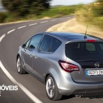 New Opel Meriva 2014 reaw left view