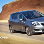 New Opel Meriva 2014 right profile view