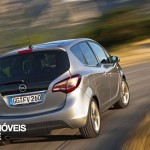 New Opel Meriva 2014 right rear view