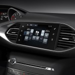 Novo Peugeot 308 2013 Tablier console