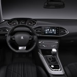 Novo Peugeot 308 2013 Tablier view