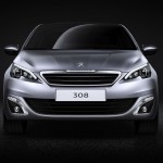 Novo Peugeot 308 2013 front view
