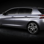 Novo Peugeot 308 2013 left profile view