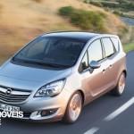 Renovado e fresco! Novo Opel Meriva 2014