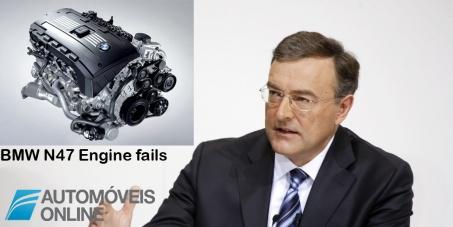 Escandaloso! BMW nega que as falhas no motor N47 sejam derivadas a defeito de fabrico