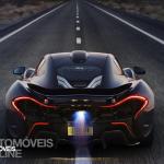 McLaren P1 Rear view 2013