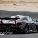 McLaren P1 Rearright profile  view 2013