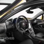 McLaren P1 interior view 2013