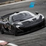 McLaren P1 right front profile view 2013
