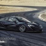 McLaren right profile view P1 2013