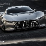 Mercedes AMG Vision Gran Turismo left front view Palystation 3 Vision Gran Turismo game 2013
