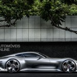 Mercedes AMG Vision Gran Turismo right profile view Palystation 3 Vision Gran Turismo game 2013