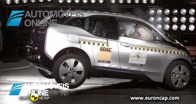 Muito Fraquinho! BMW i3 nos testes EuroNCAP