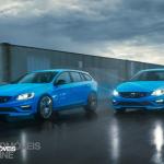New Volvo V60 T6 Polestar break and sedan front view 2014