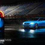 New Volvo V60 T6 Polestar sedan view 2014