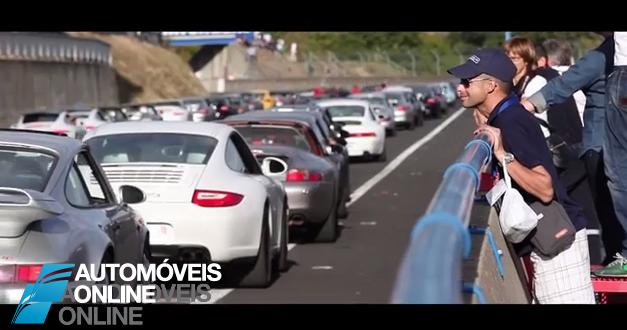Vídeo! Comemorações do Porsche 911 em França