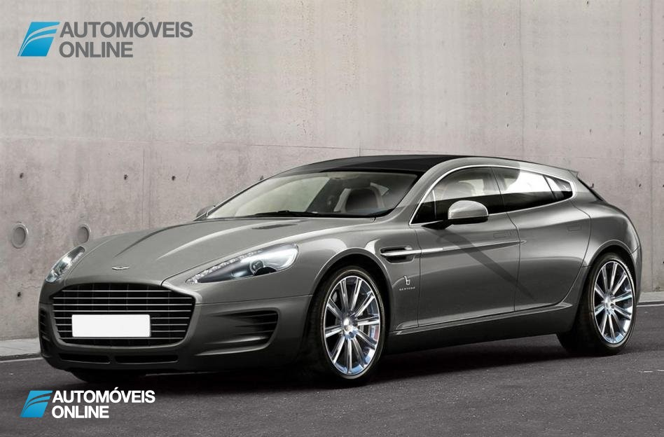 Aston Martin Rapide Jet 2+2 front left quarter view