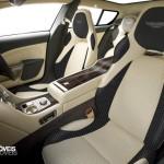 Aston Martin Rapide Jet 2+2 interior view