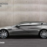Aston Martin Rapide Jet 2+2 profile view