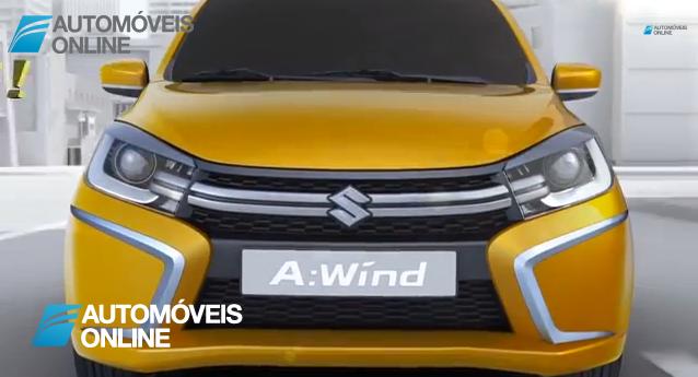 Chama-se A Wind! O novo protótipo da Suzuki