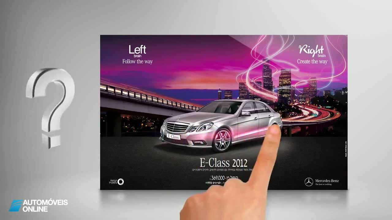 Daimler! Mercedes lança loja online