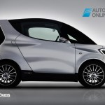 First car Yamaha MOTIVe Concept right profile view 2013