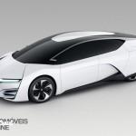 Honda FCEV Concept car 2013 Hidrogénio front left profile view _Automoveis-Online