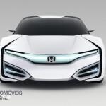 Honda FCEV Concept car 2013 Hidrogénio front view _Automoveis-Online
