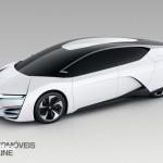 Honda FCEV Concept car 2013 Hidrogénioright front profile view _Automoveis-Online