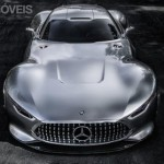 Mercedes-Benz Vision Grand Turismo front top view production 2015