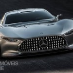 Mercedes-Benz Vision Grand Turismo front view production 2015