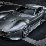 Mercedes-Benz Vision Grand Turismo left front top view production 2015