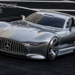Mercedes-Benz Vision Grand Turismo left front view production 2015
