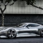 Mercedes-Benz Vision Grand Turismo left profile view production 2015
